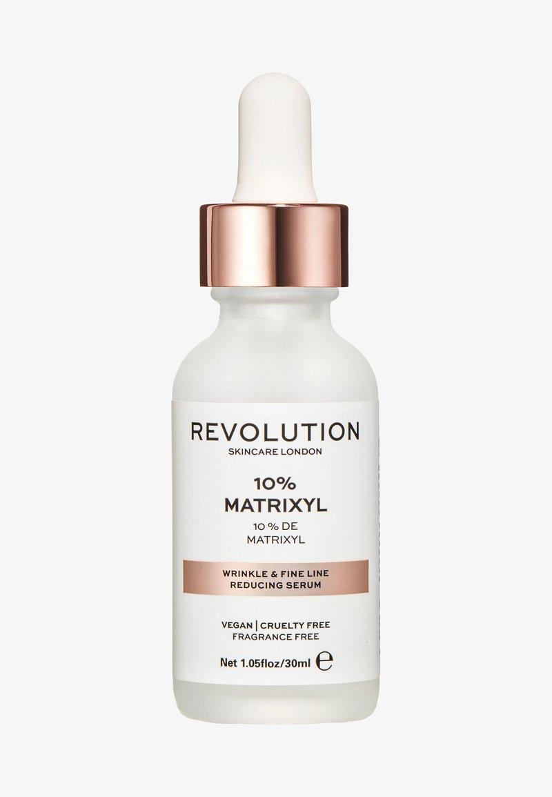 Revolution Skincare - WRINKLE AND FINE LINE REDUCING SERUM - 10% MATRIXYL - Serum - -