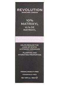 Revolution Skincare - WRINKLE AND FINE LINE REDUCING SERUM - 10% MATRIXYL - Serum - - - 2