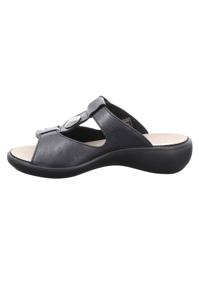 IBIZA - Mules - schwarz