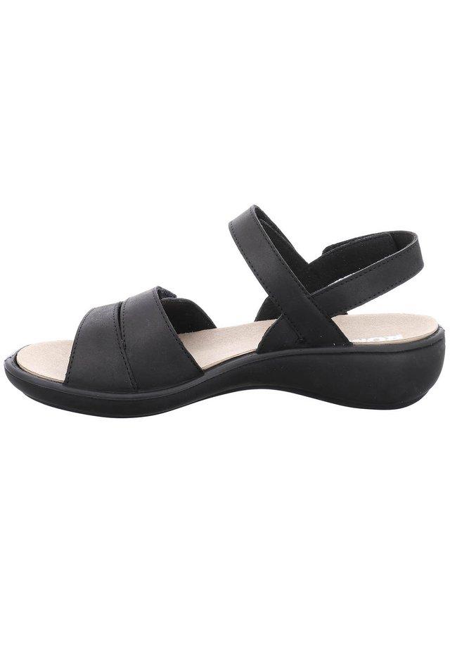 IBIZA - Platform sandals - schwarz