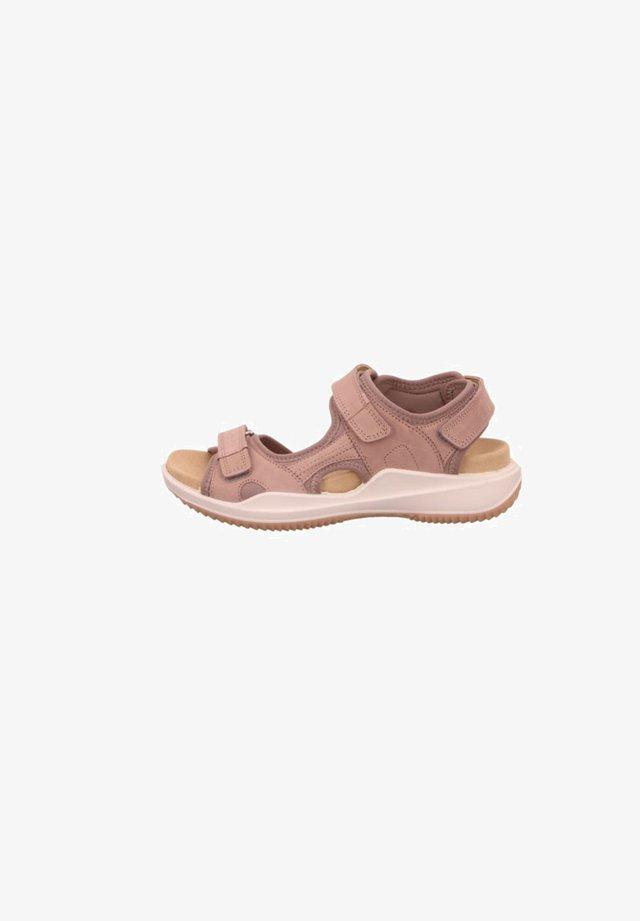 Walking sandals - nude