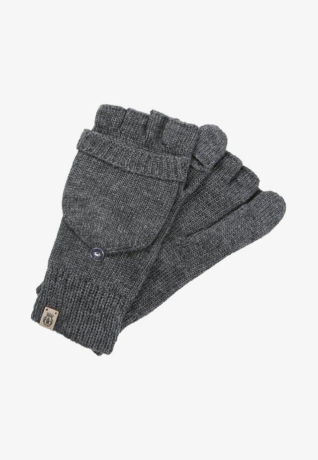 Fingerless gloves - silvergrey
