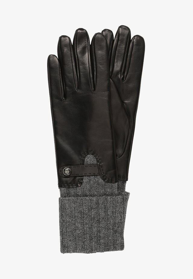 HERITAGE - Fingerhandschuh - black/grey