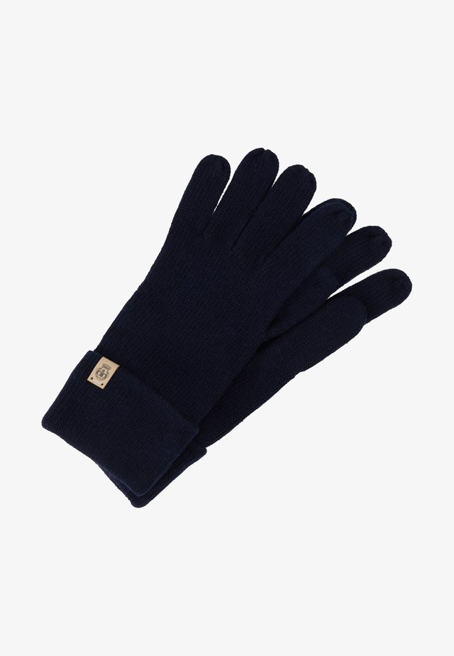 ESSENTIALS BASIC  - Gloves - navy
