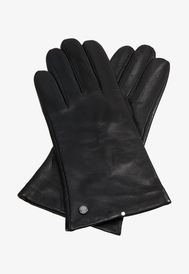 Roeckl - CLASSIC SLIM - Sormikkaat - black