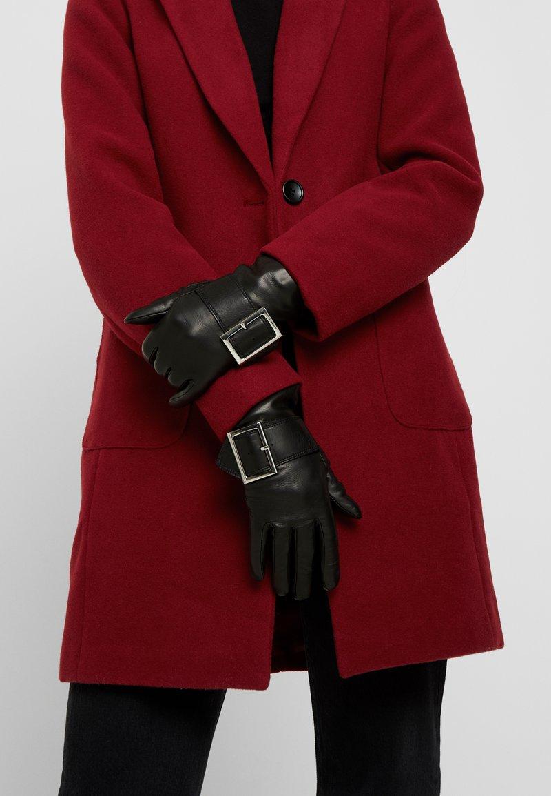 Roeckl - TRENCH BUCKLE - Rękawiczki pięciopalcowe - black