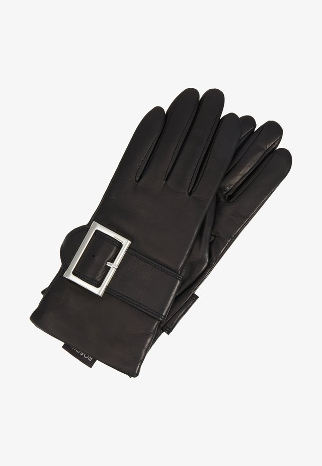 TRENCH BUCKLE - Sormikkaat - black