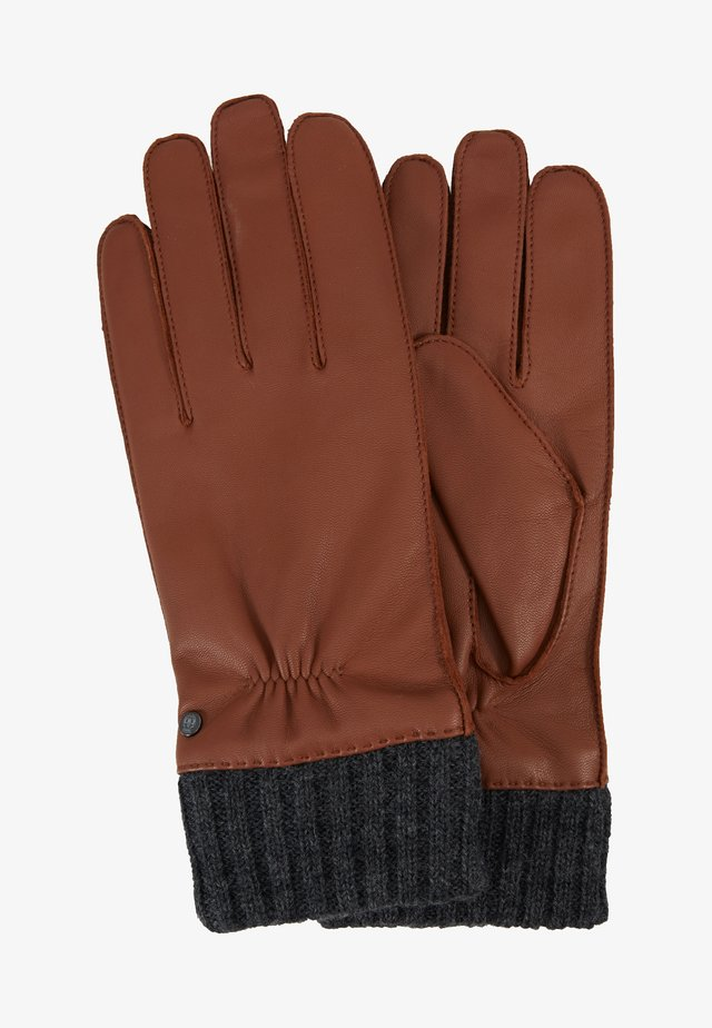 CUFF - Gloves - saddlebrown