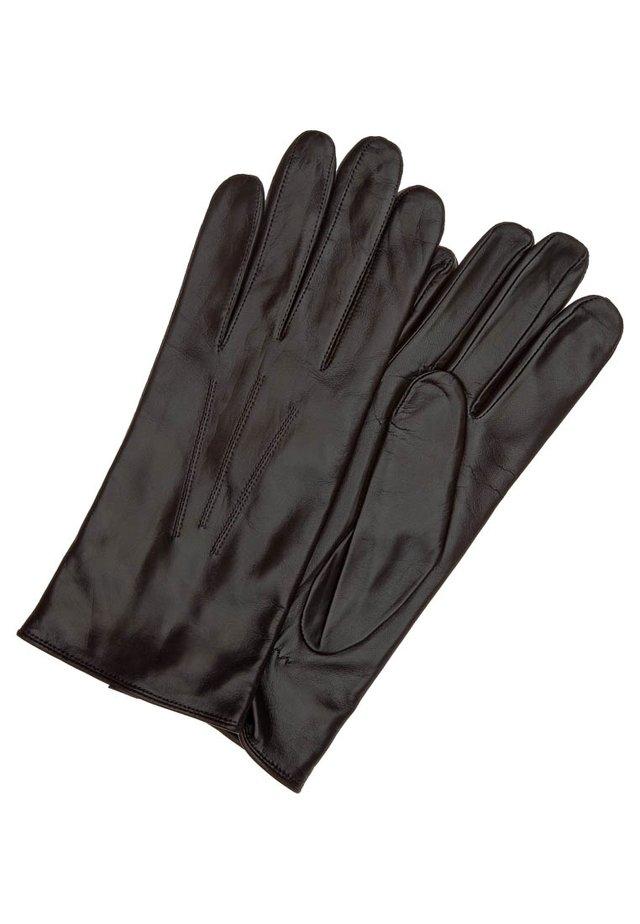 KLASSIKER WOLLE - Rękawiczki pięciopalcowe - mocca