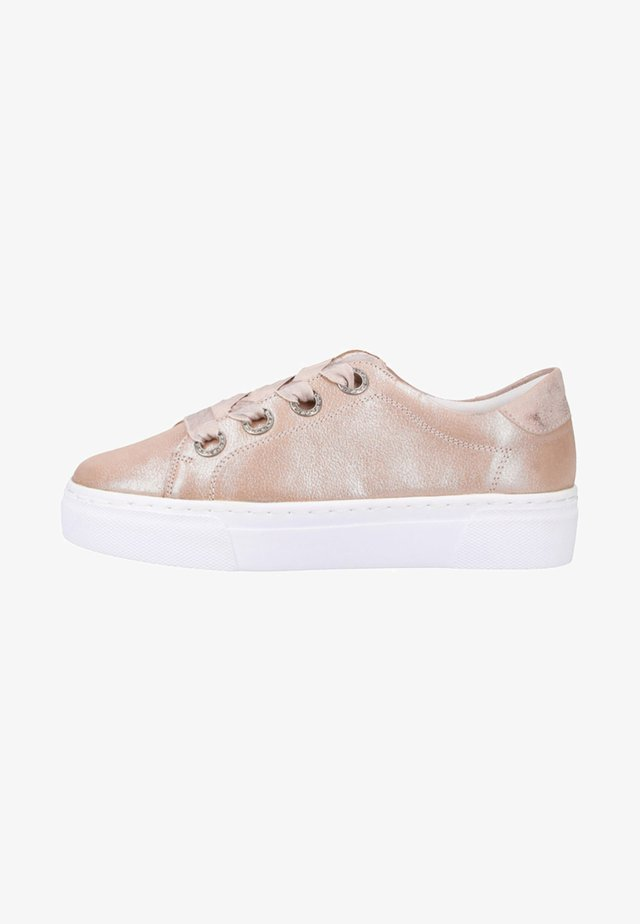 Sneakers - nude/rosegold