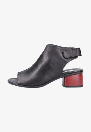 Sandaler m/ skaft - black