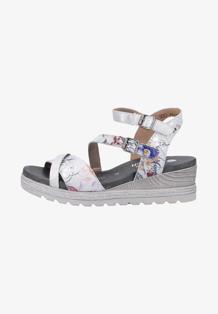 Remonte - Wedge sandals - offwhite