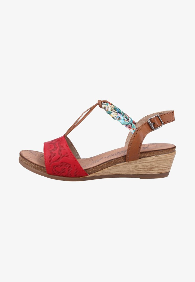 Remonte - Wedges - red