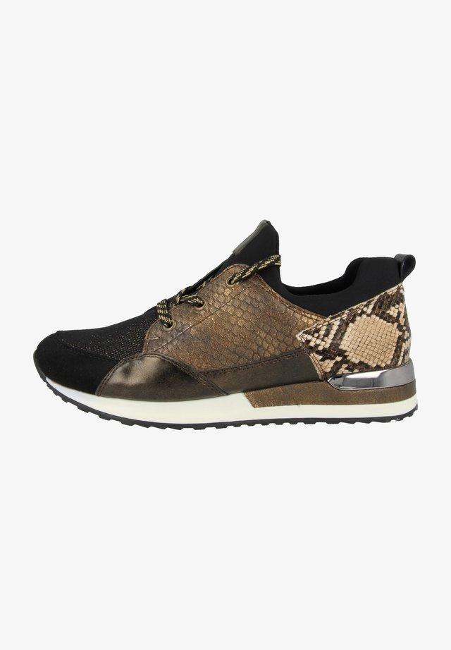 Sneakersy niskie - brown combination (r2503-24)
