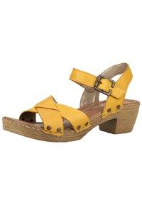 Remonte - Sandaler - yellow - 2