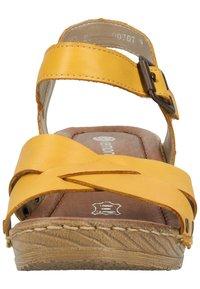Remonte - Sandaler - yellow - 5