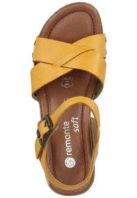 Remonte - Sandaler - yellow - 1