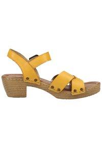 Remonte - Sandaler - yellow - 6