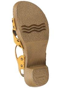 Remonte - Sandaler - yellow - 4