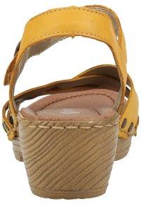 Remonte - Sandaler - yellow - 3