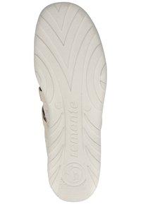 Remonte - REMONTE SLIPPER - Ankle cuff ballet pumps - light grey - 4
