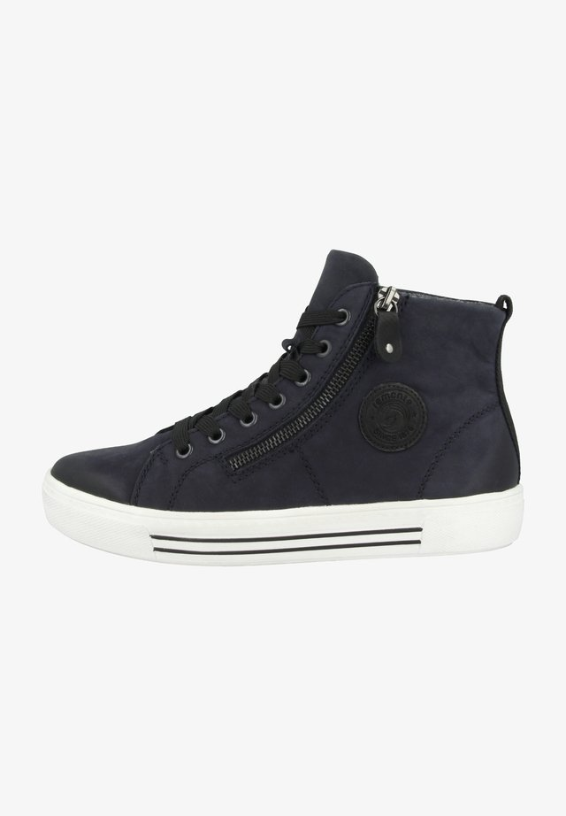 High-top trainers - blue (d0972-14)
