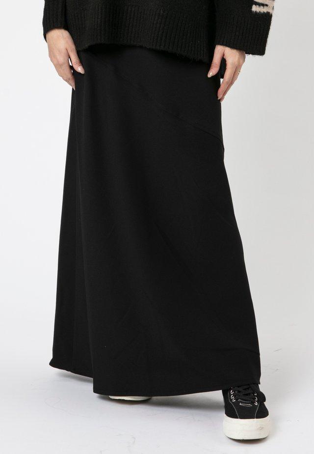 NEPTUNE  - Maxi skirt - black