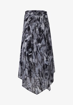 TITAN MIDI SKIRT - Maxi skirt - black