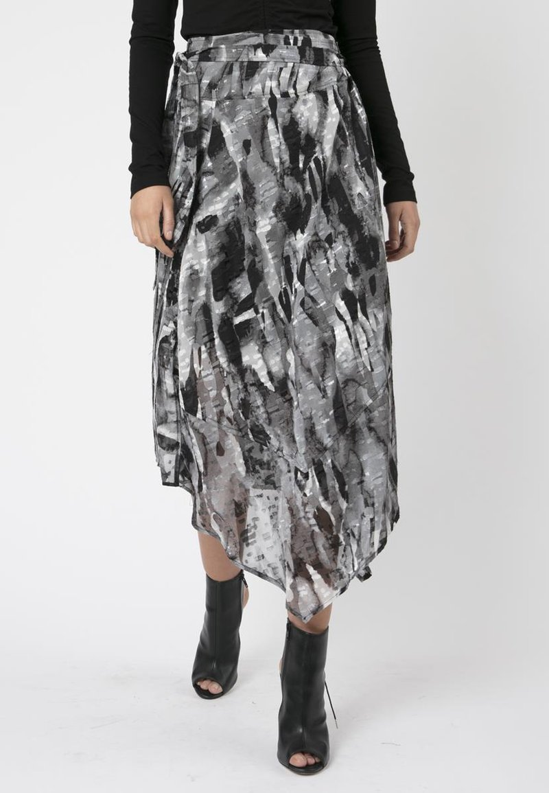 Religion - TITAN MIDI SKIRT - Maxi skirt - black