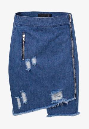 AQUARIUS  - Wrap skirt - indigo
