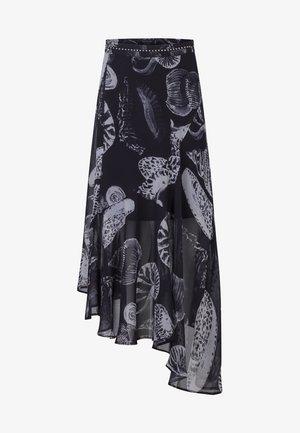 PRECIOUS - Spódnica plisowana - black