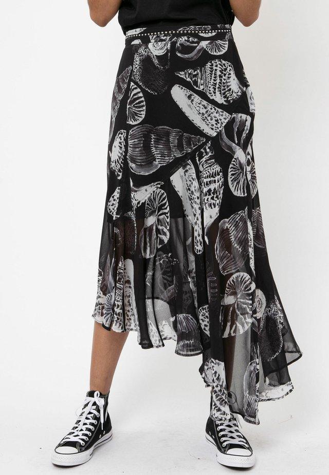 PRECIOUS - Pleated skirt - black