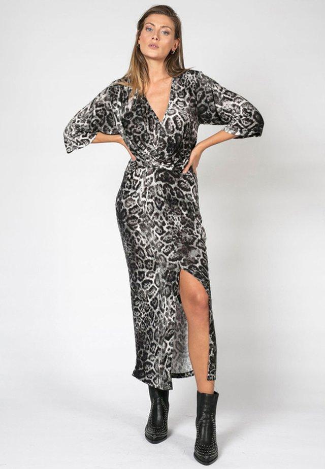 Maxi dress - black denim