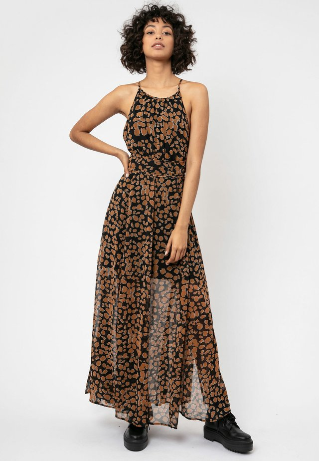 COMPLETE - Maxi-jurk - brown