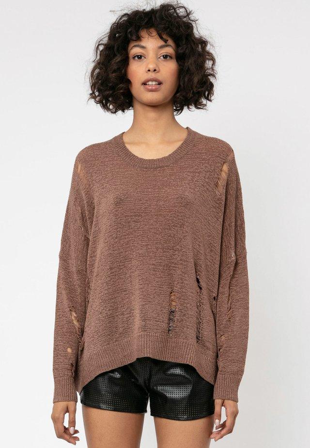BLOOM  - Jumper - brown