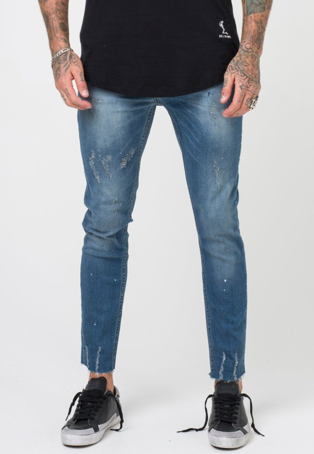 BERLIN  - Slim fit jeans - blue