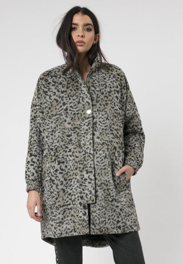 SATURN - Short coat - dark grey