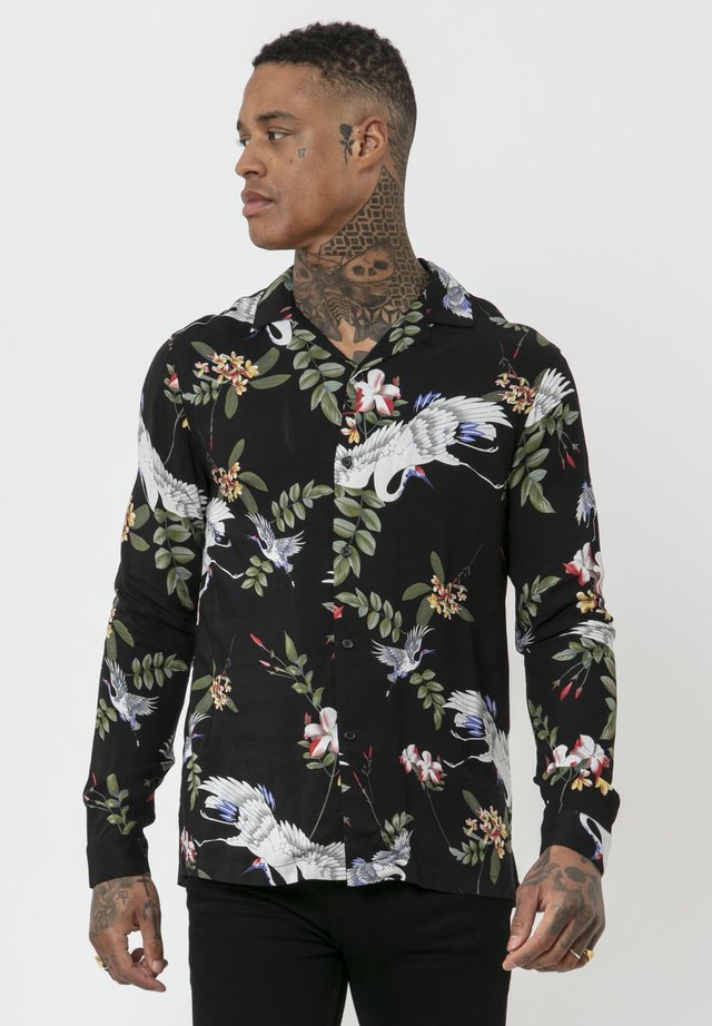 CRANE - Shirt - black/multi