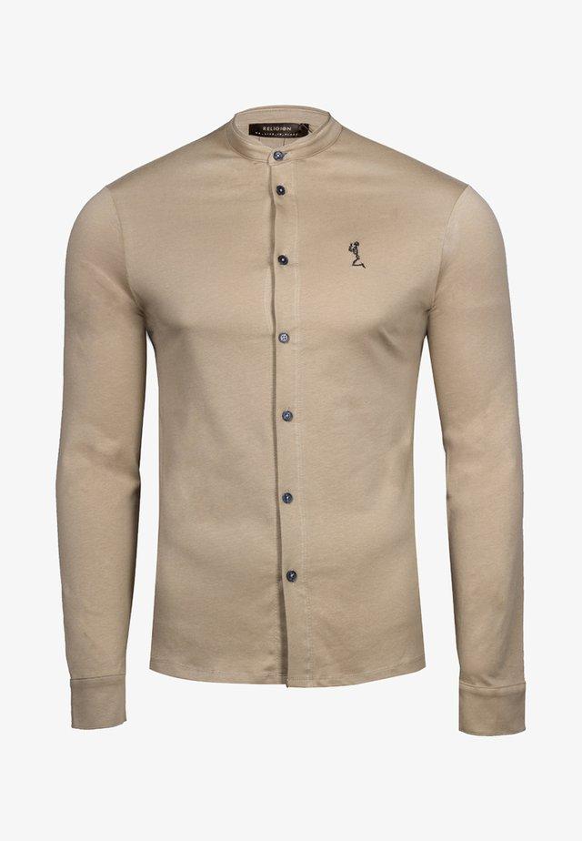 ORMONT - Shirt - camel