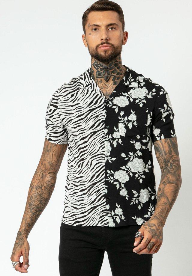 BLITZ - Shirt - black/white