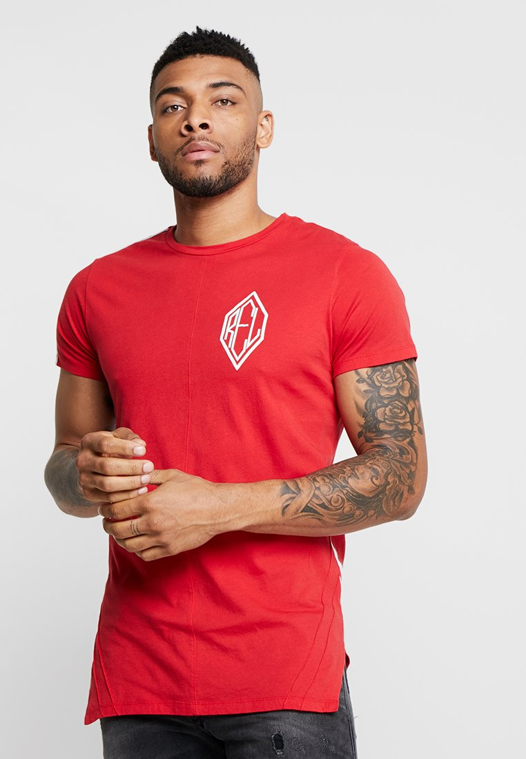 Religion - TRIAL TEE - Print T-shirt - red