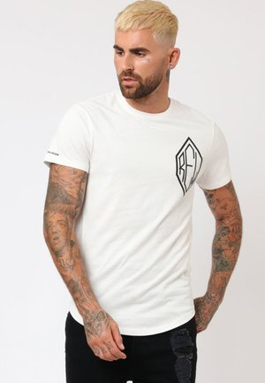 STUD - Print T-shirt - white
