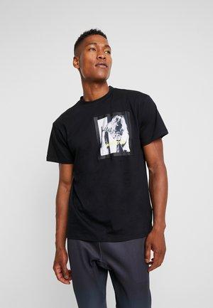 FRAME TEE - Camiseta estampada - black