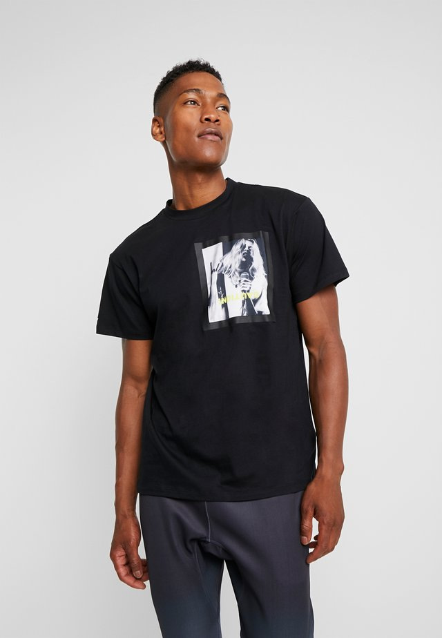 FRAME TEE - T-shirt con stampa - black