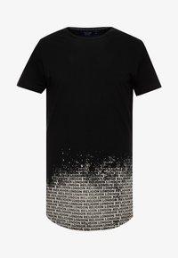 Religion - CLOUDY CURVED HEM TEE - Camiseta estampada - black - 4