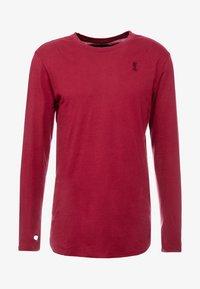 Religion - ACE LONGLINE  - Långärmad tröja - burgundy - 3