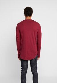 Religion - ACE LONGLINE  - Långärmad tröja - burgundy - 2