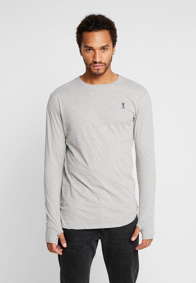 ACE LONGLINE  - Long sleeved top - grey marl