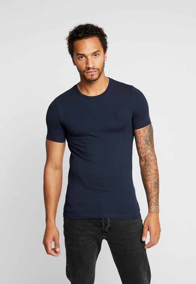 MUSCLE TEE - T-Shirt print - navy