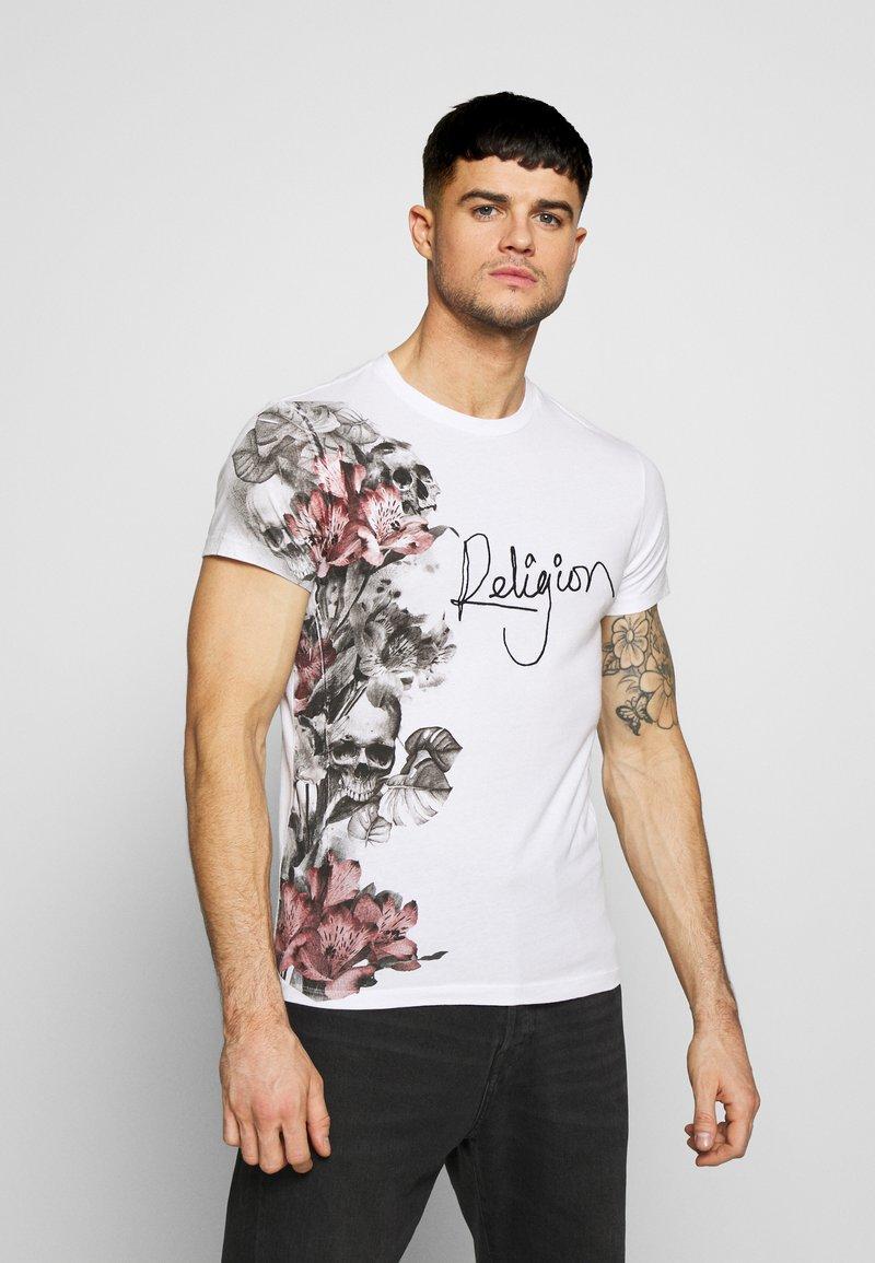 Religion - HERO TEE - Print T-shirt - white